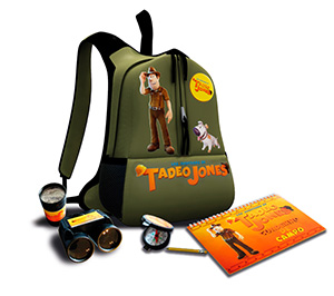 Mochila de Aventuras de Tadeo Jones
